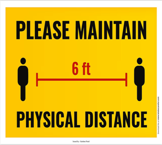 phyisical distancing