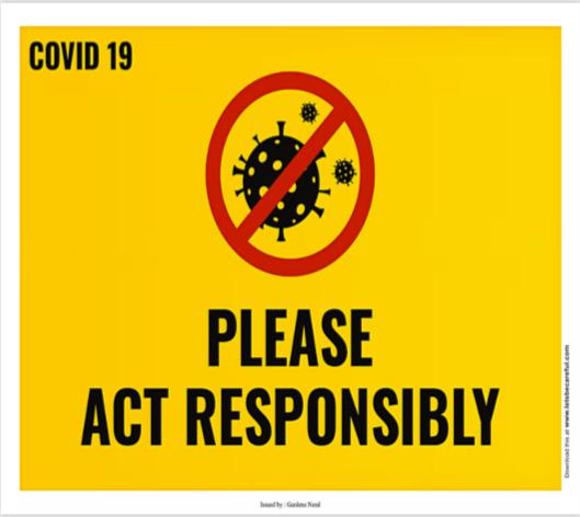 covid19 act responsibly